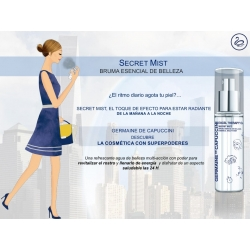 EXCEL THERAPY 02 SECRET MIST- BRUMA BELLEZA 30 ML  GERMAINE DE CAPUCCINI