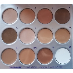 Maquillaje base correctivo  Foundation Covermark