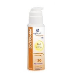 Leche protectora solar corporal + after sun Rayblock Body Plus Milk SPF30 Covermark