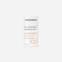 mesoprotech sun protective repairing stick 100+ protección solar mesoestetic