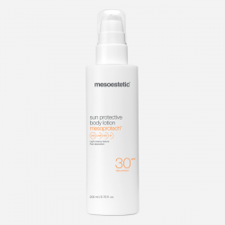 mesoprotech sun protective body lotion 30+ proteccion solar mesoestetic
