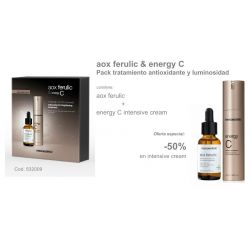 Pack Navidad Aox Ferrulic + Energy C intensive cream Mesoestetic