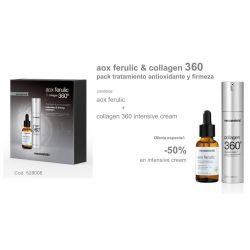 Pack Navidad Aox Ferrulic + Collagen 360 intensive cream Mesoestetic