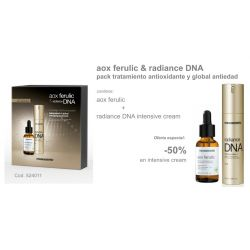 Pack Navidad Aox Ferrulic + Radiance DNA intensive cream Mesoestetic