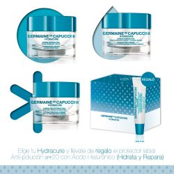 Pack Hydracure P.Muy secas 50ml+ Prot. Labial 15ml Germaine Capuccini 19