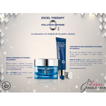 Pack Excel o2 Therapy Christmas 2( Crema 50ml+cont 15ml) 19