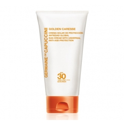 Crema Solar De Protección Antiedad Global Spf 30 - Golden Caresse