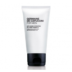 Anti-Shine-Hydrating Oil Free Fluido Facial Matificante For Men Germaine de Capuccini