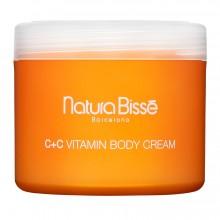 C+C vitamin Body Cream 250ml Reafirmante intensiva corporal Natura Bisse