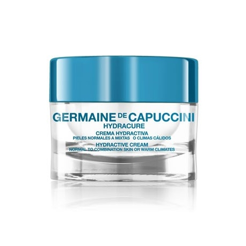 Crema Hydractiva Pieles Normales a Mixtas o Climas Cálidos Hydracure Germaine de Capuccini