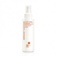 Spray sport de protección antiedad global SPF 30 Water resistant , Golden Caresse