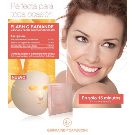MÁSCARA FACIAL MULTI-CORRECCIÓN T C+ (AGE) FLASH C RADIANCE